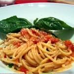 spaghetti al pmodoro