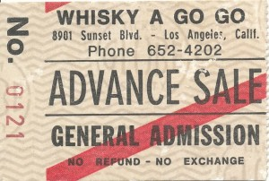 Whiskey A Go-go ticket-front