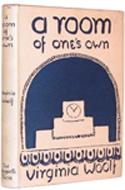 Prima edizione di Room of one's Own, illustrazioni di Vanessa, sorella di Virginia