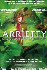 Locandina del film Arrietty