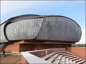 """Il """"moscone"""" progettato da Renzo Piano"""