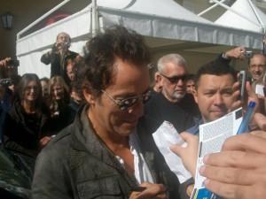 Bruce firma autografi a Perugia