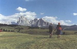 Luigi Ghirri - Alpe di Siusi, 1984