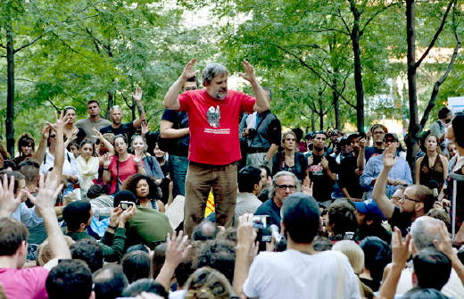"Žižek at ""Occupy Wall Street"""
