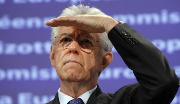 Mario Monti guarda avanti