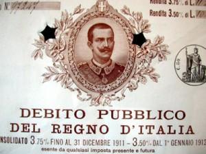 Titolo di Stato del Regno d'Italia