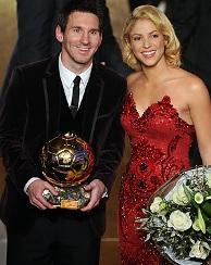 Lionel Messi e Shakira