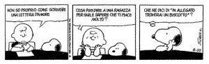L'amore non si dice versione Charlie Brown