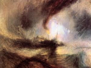 Turner, La tempesta di neve [1842]