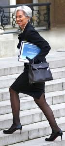 Lagarde con Kelly grigia e Loubitin tacco 7