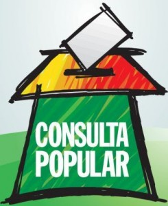 In spagnolo Consulta vuol dire Referendum