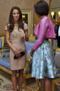 Kate in Reiss e Michelle Obama