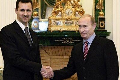 Il presidente russo Vladimir Putin fedele alleato di Bashar al Assad