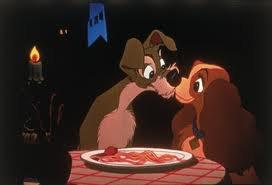 Lilli e il Vagabondo: cena romantica.