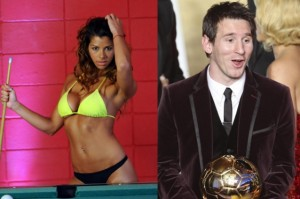 Xoana e Messi