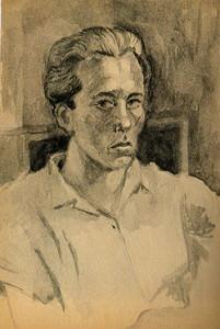 Franco Fortini autoritratto
