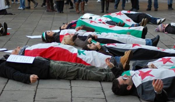 Manifestazione per la Siria: non vogliamo altri morti