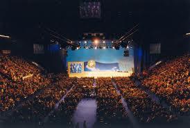 Un congresso di Forza Italia nel 1998