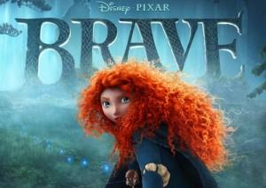 La locandina di The Brave - Ribelle, il prossimo film della Pixar