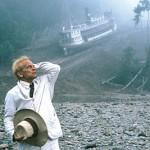 il folle Klaus Kinski in Fitzcarraldo di Fritz Lang