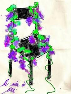 la sedia di lillà