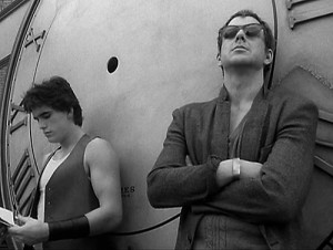 Mickey rourke e Matt dillon in rusty il selvattio di Francis ford coppola