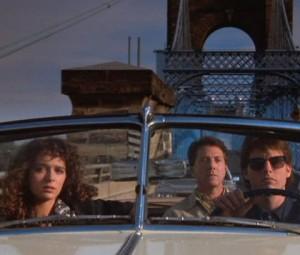 Rain man con Tom Cruise, Dustin Hoffman e Valeria Golino