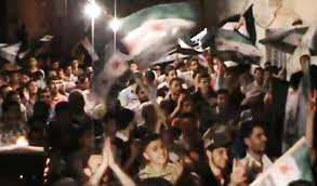 Le manifestazioni ad Aleppo sono sempre più numerose