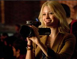 Beautiful Ashley Hinshaw and her handcam in Chronicle