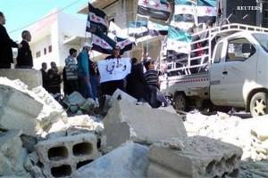 distruzione ad Aleppo