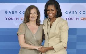 Valerie Trierweiler e Michelle Obama
