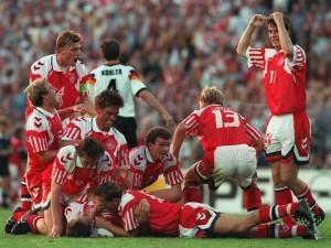 La Danimarca batte la Germania nella finale degli Europei 1992