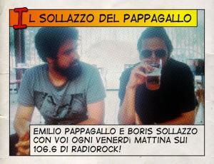 Emilio Pappagallo e Boris Sollazzo su RadioRock