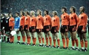 L'Olanda nella finale mondiale 1974