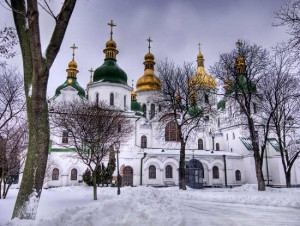 La cattedrale di Santa Sofia a Kyev