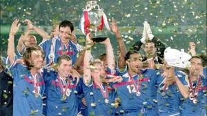 Francia campion d'Europa 2000