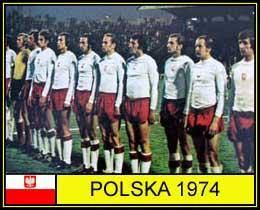 Polonia terza ai mondiali 1974
