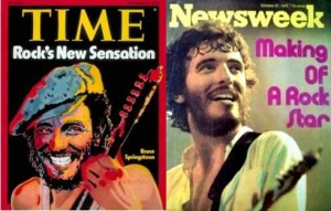 Springsteen: copertine Time e Newsweek ottobre 1975
