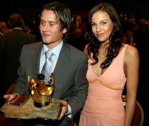 tomas rosicky and his girlfriend radka kocurova