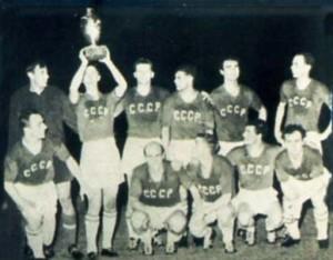 unione sovietica campione ueropea 1960