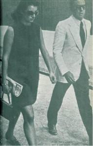 1971 Anna Maria Casata Stampa di Socino e il suo tutore Cesare Previti
