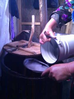 Preparazione del Kumys