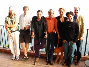 Capri 2006 D.F. Wallace, J Franzen, Davide Azzolini e Antonio Monda Zadie Ssmith, Nathan Englander e Jeffrey Eugenides.