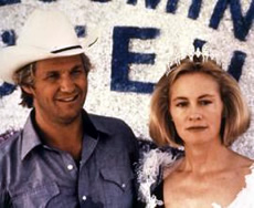 Jeff Bridges e Cybill Sheperd in Texasville