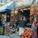 Due donne al souk di Sanaa