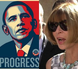 Anna Wintour  for Obama
