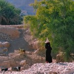 Una donna con il wakhl Hadramawt
