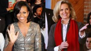 Michelle Obama e Ann Romney vi salutano.