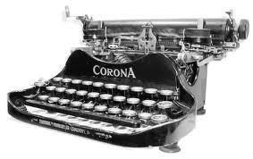 Ghost typewriter