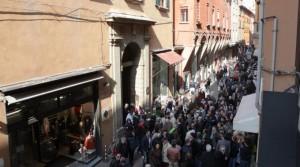 Casa di Lucio Dalla a Bologna.